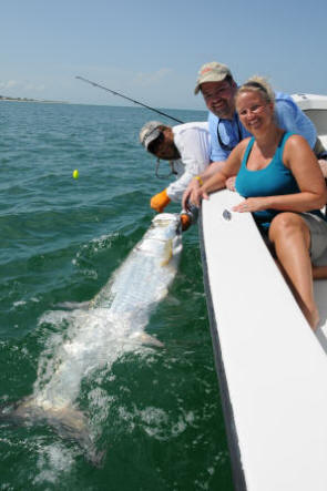 Tarpon fishing with Captain Mark Bennett