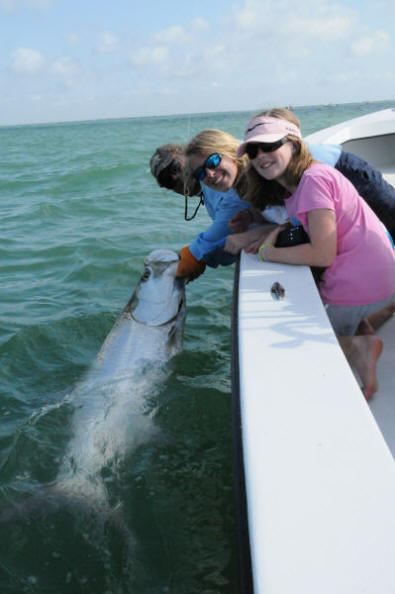 Boca Grande Tarpon fishing with Captain Mark Bennett