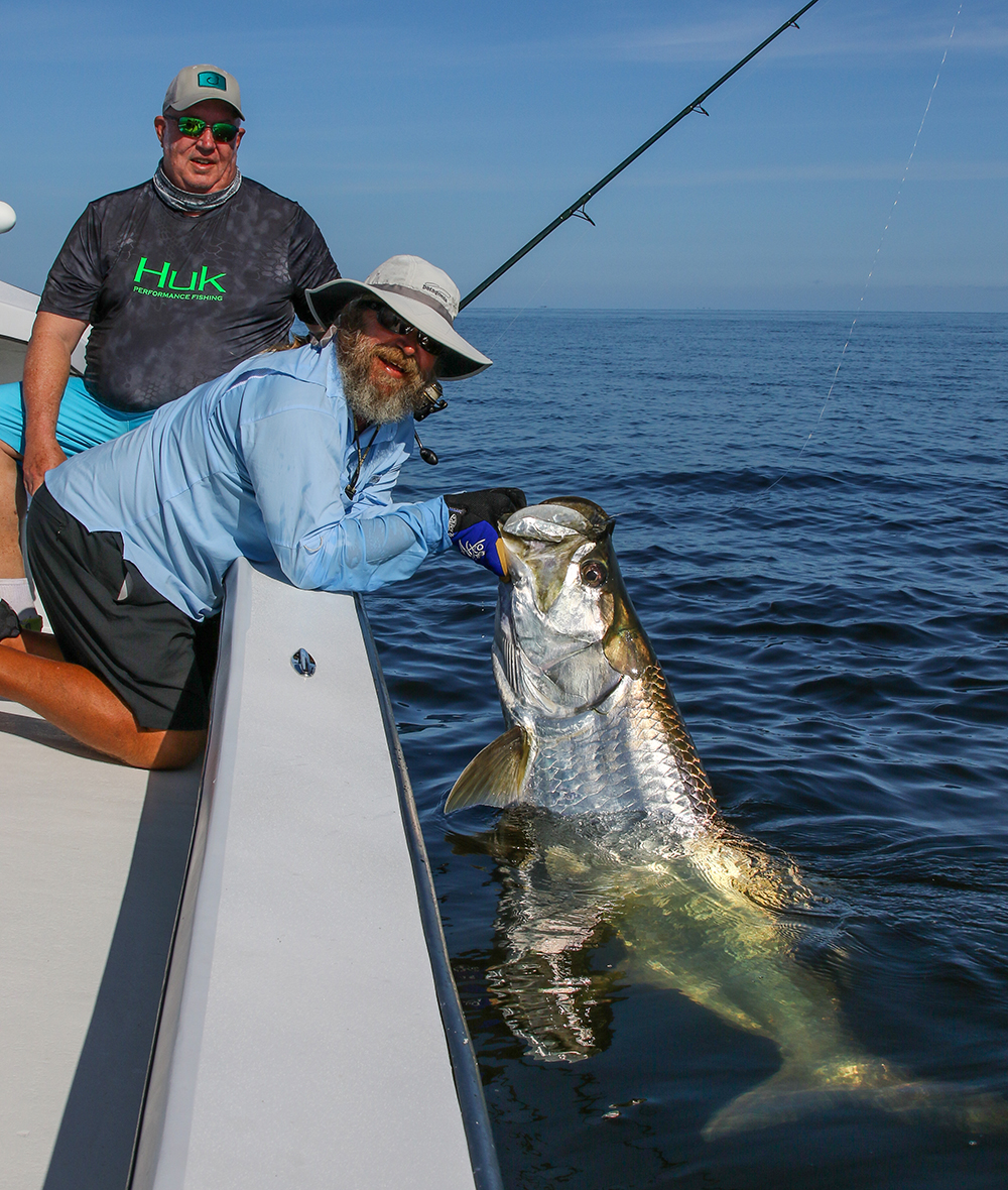 Everglades tarpon fishing with Captain Mark Bennett-© Tarponsnook.com