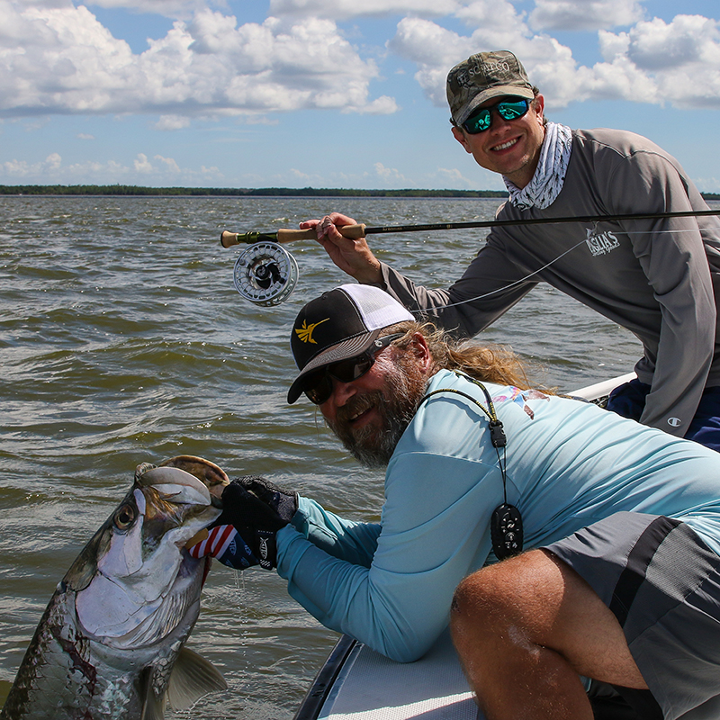 Everglades tarpon on fly